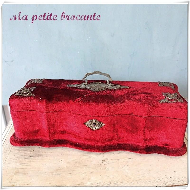 Coffret Napoléon III boîte à gants